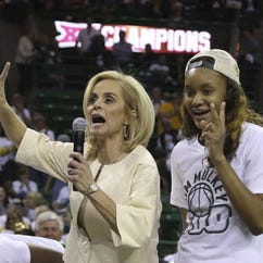 Kim Mulkey tabs Baylor 'damn best school in America,' says she will punch critics in face