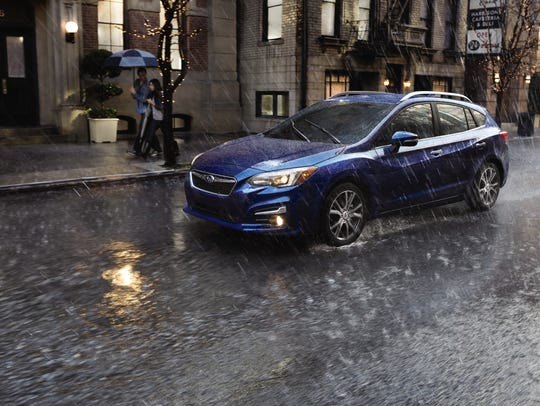 This photo provided by Subaru shows the 2017 Subaru