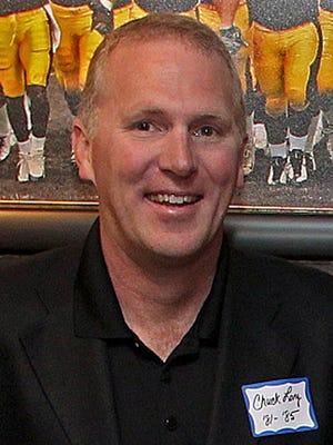 Former Hawkeye quarterback Chuck Long
