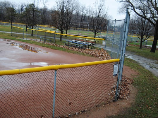 Baseball fields at Marysville City Park are among focuses for proposed improvements to the park. The city and Marysville Little League are working together to seek grant funding to make two of the fields handicapped-accessible.
