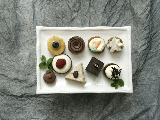 A selection of desserts from Debbie Mumford of Mumford's