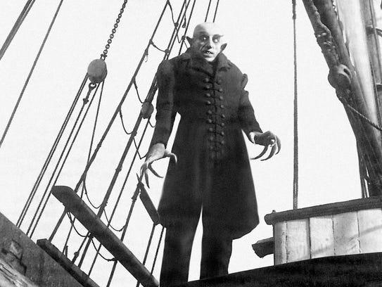 Max Schreck as Count Graf Orlok in Friedrich Wilhelm