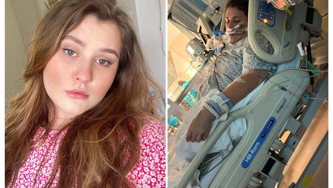 Halene O'Connell, a 16-year-old rising senior at Milton High School, is in a coma and on a ventilator fighting for her life after having been diagnosed with COVID-19.