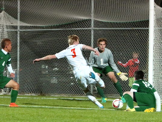 Cedarburg Boys Soccer vs Oshkosh North