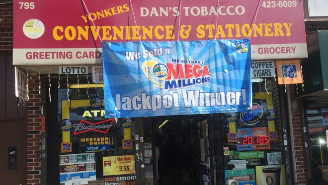 Yonkers Convenience & Stationery, 795 Yonkers Ave., Yonkers, which sold a $106 million winning Mega Millions lottery ticket.  The store is seen Sept. 16, 2015.