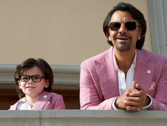 Maximo (Eugenio Derbez) takes his nephew (Raphael Alejandro)