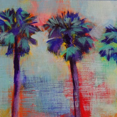 Julie Lounibos is one of 24 Calendart artists participating