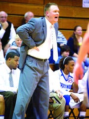 Spotswood's Chad Edwards, now the head boys basketball