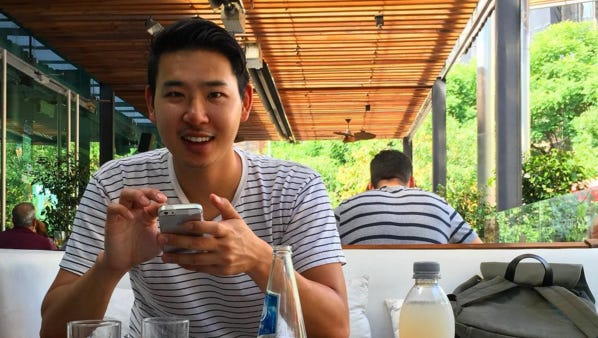 When his request to go remote was denied, design strategist Derrick Sun decided to leave his job and travel the world as a freelancer.