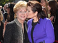 Debbie Reynolds, left, and daughter Carrie Fisher attend