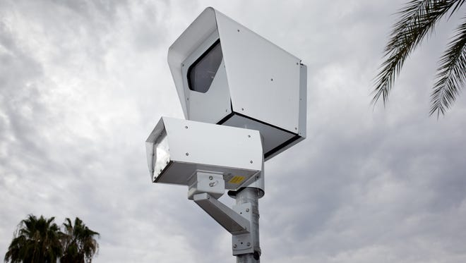 In Arizona, 11 cities and towns have red-light cameras, and 13 communities have speeding cameras, according to data from the Insurance Institute for Highway Safety.