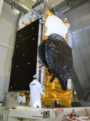 SES-12 is the largest and most powerful all-electric propulsion communications satellite ever produced, according to manufacturer Airbus Defense and Space. The satellite's launch from Cape Canaveral on a SpaceX Falcon 9 rocket is targeted for 12:29 a.m. Friday, June 1.