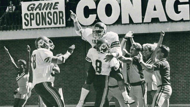 The 1987 national champions finished with a 13-2 record, perfect 6-0 mark in the Southland Conference and wins over Louisiana Tech, Georgia Southern, Southern Miss, Arkansas State and Marshall.