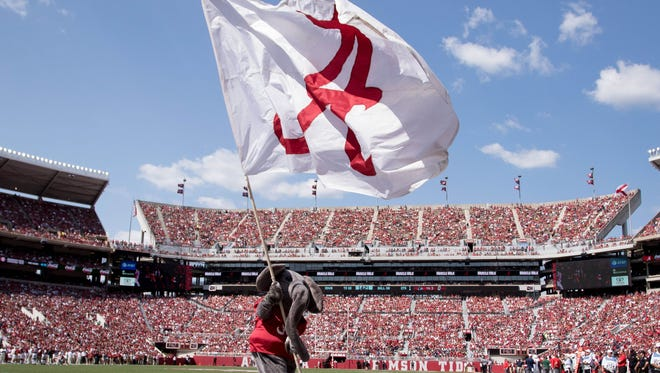 The Alabama football team reported $103.9 million in revenue and a $47 total profit from the 2016 football season. The total football profit was more than CSU's total athletic revenue.