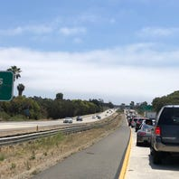 Highway 101 traffic into Ventura backed up due to crash