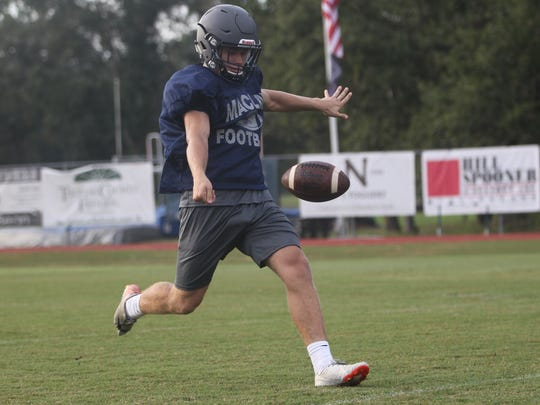 Maclay's Brady, Godby's Aguirre punting & kicking with the best
