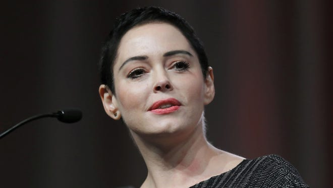 Rose McGowan's lawyers said Tuesday that a drug possession charge against her in Virginia should be tossed out of court, in part because she has been a victim of 'the Harvey Weinstein machine.'