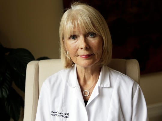 Acupuncture physician Carol McDermott, doctor of Eastern