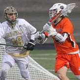 Brighton, Howell play lacrosse in the snow