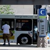 Metro ridership down