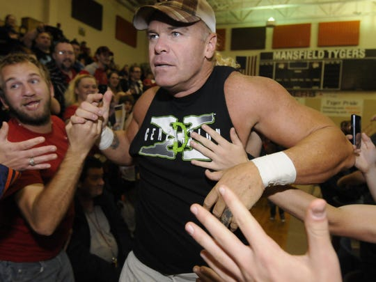 Wrestler Billy Gunn, one of the founding members of D-Generation X, comes to Great Falls on June 2.