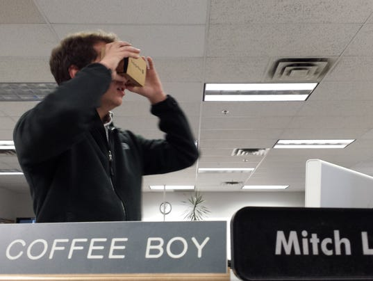ben rodgers VR google cardboard newsroom