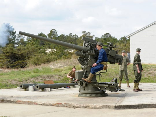 A $150,000 appropriation to mount a World War II-era gun barrel at Fort Miles inside Cape Henlopen State Park is in the state budget.