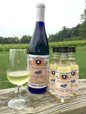 Seneca Lake-based Lakewood Vineyards plans to release its mead in single-serving bottles. The winery's owners suggest pairing the honeyed wine with spicy food. Provided photo.