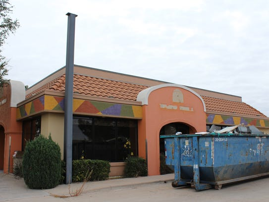 A former Taco Bell location on South 14th Street will