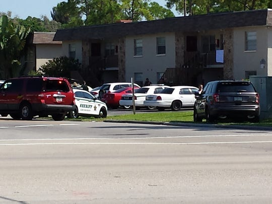 The Lee County Sheriff's Office is on the scene of a standoff situation at the Country View Apartments off Pondella Rd in North Fort Myers.