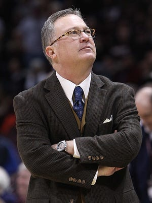 Former Missouri State men's basketball coach Barry Hinson, now with Southern Illinois, is the 2016 Missouri Valley Conference Coach of the Year.