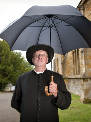 """Actor Mark Williams of """"Father Brown."""""""