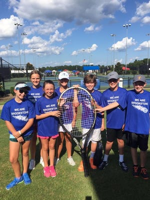 The members were Belle Ross, Ally Jones, Maren Clare McClain, Dulcie Mohr, Michael Norris, Ross Campbell, and Xander Clarkson. They represented Brookstone and Anderson well with their tennis skills, sportsmanship, and team spirit.