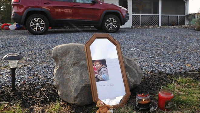 There is a roadside memorial for Franklin crash victim Matt McCloskey on Delsea Drive near Elmer Street in Franklinville.
