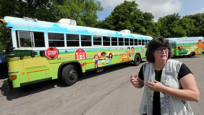 Murfreesboro City School's CHOW bus, which provides meals to children during the summer, earned the system an award from the Department of Human Serves last year. The state is now taking nominations for this year.