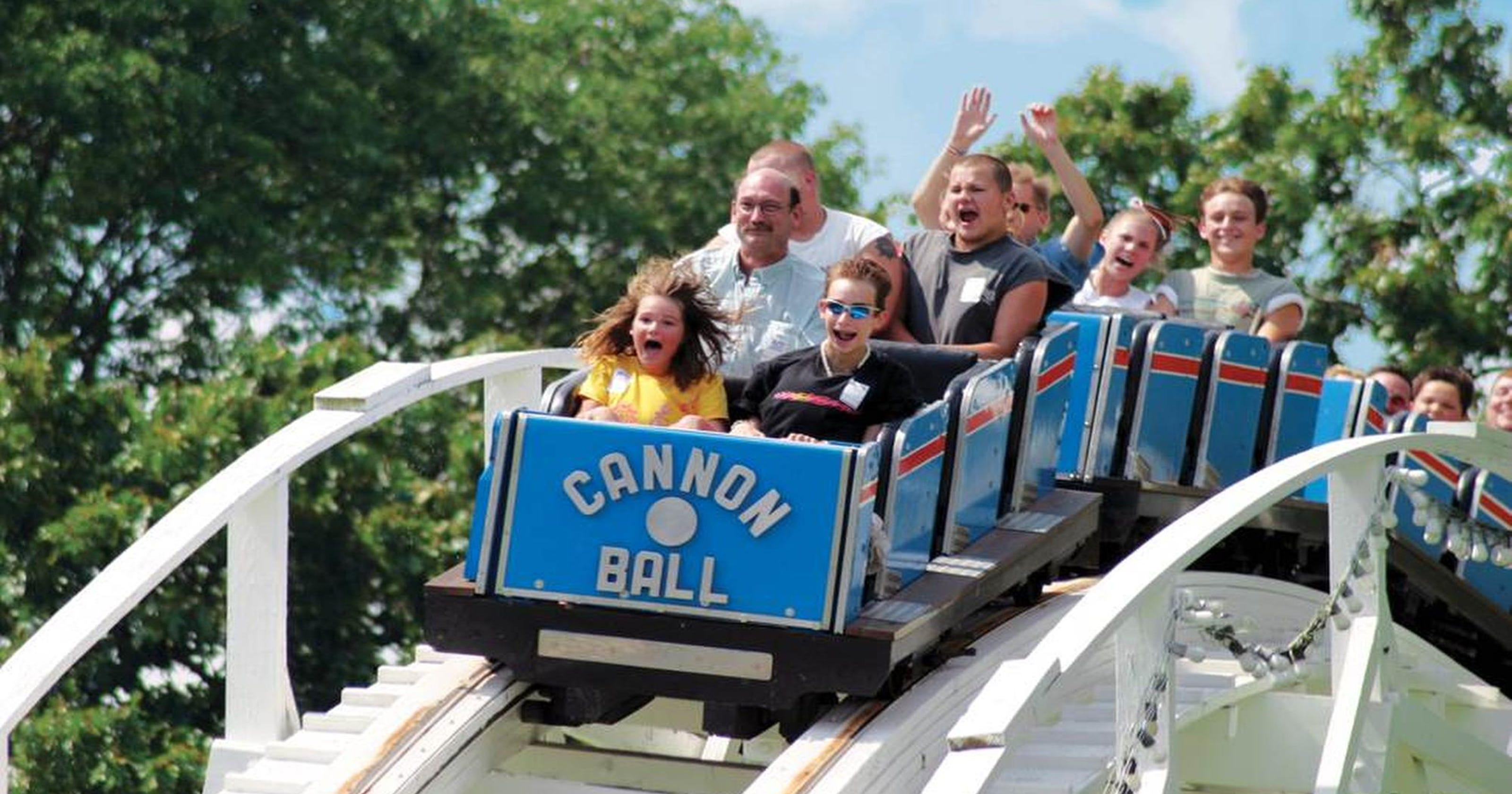 7 theme parks within driving distance of Nashville