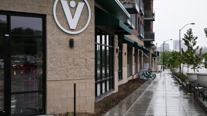 Veridian Credit Union will open a branch location Monday in the Ingersoll Square development at the corner of Martin Luther King Jr. Parkway and Ingersoll Avenue.