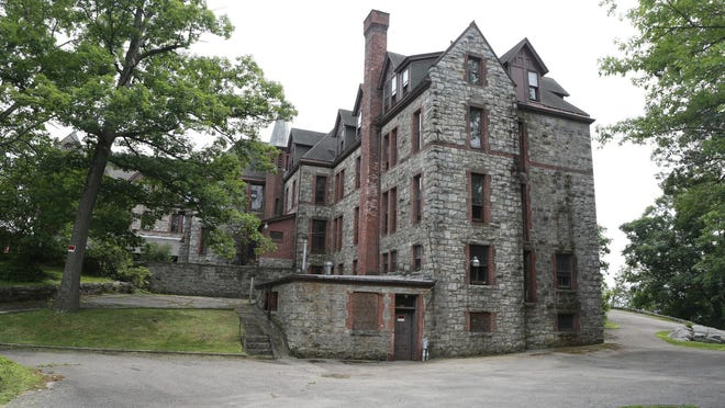 A view of the former St. Mary's Convent in Peekskill, photographed June 17, 2015.
