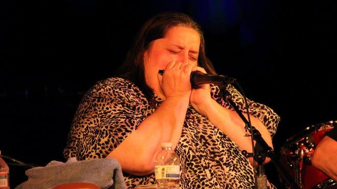 Big Nancy Swarbrick at Roxy and Duke's Roadhouse in 2012.