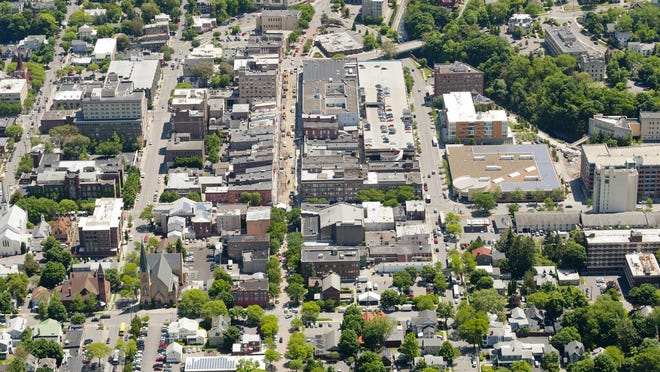 Downtown Ithaca May 30 2014