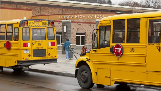 Ithaca High School, of the Ithaca City School District.
