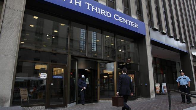 Fifth Third Bank is headquartered in Downtown Cincinnati.