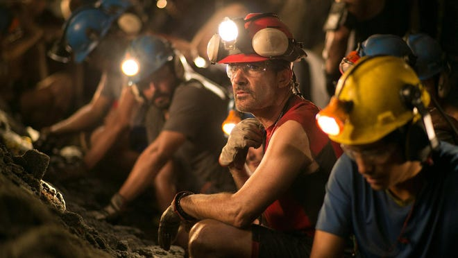 """Antonio Banderas stars as """"Super Mario"""" in a retelling of the 2010 Chilean mining disaster."""