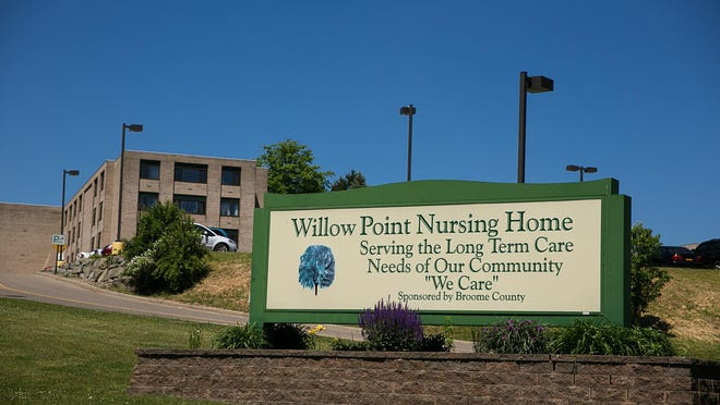 The Broome County-owned Willow Point Nursing Home in Vestal.