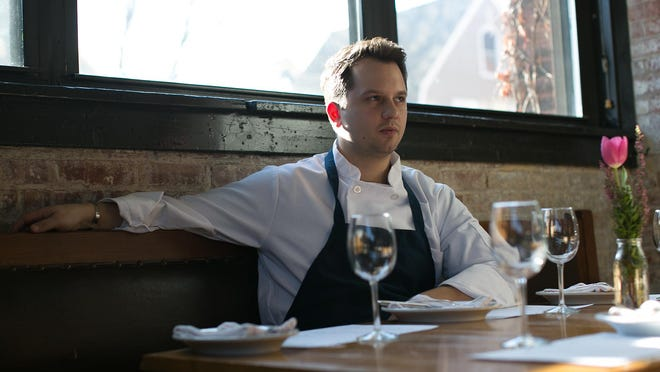 Andreas Petsos is a sous chef at Good Luck Restaurant in Rochester on Thursday, January 7, 2016.