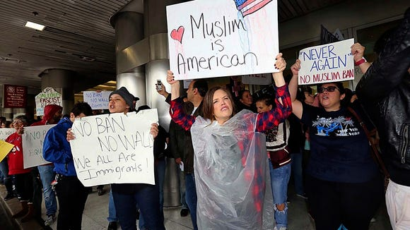 travel ban chaos shock event
