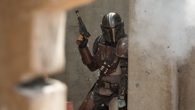 """""""The Mandalorian"""" is a new Disney+ """"Star Wars"""" series that follows the adventures of the title character, a mysterious bounty hunter played by Pedro Pascal."""