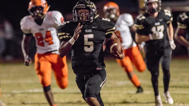 Gray's Creek running back Jerry Garcia Jr. (5) is expected to be one of the top players in the Cape Fear region this fall.