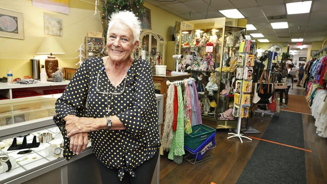 Barbara Bradley at Family Renew The Secret Attic in Ormond Beach, Thursday, June 18, 2020 has seen a rise in donations after she reopened the thrift store.