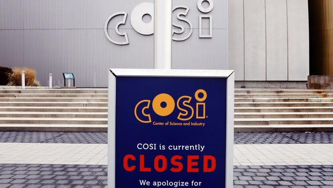 COSI was set to reopen to members on Wednesday and the public a week later, but it canceled that plan as the coronavirus spread worsens in Columbus.